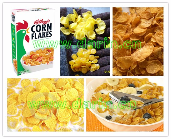 Fully Automatic Kellogg Corn Flakes And Breakfast Cereal Manufacturing Machine