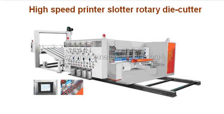 Used Carton box corrugated cardboard printer slotter die-cutter machine/carton box printer