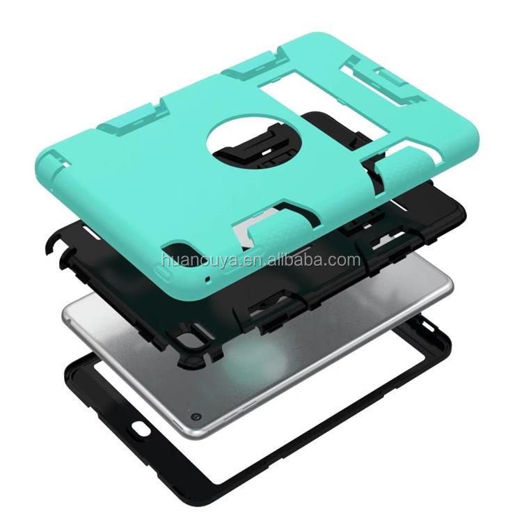 Hybrid shockproof case with stand for ipad mini shockproof case,case for ipad mini 4