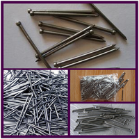 2'' finish nails/15 gauge finish nails/black finishing nails