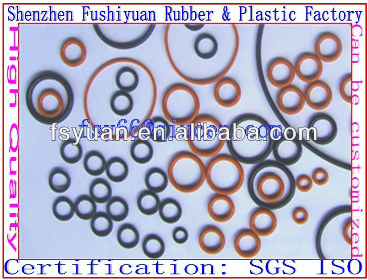 1 1.5 1.78 1.8 2 3 4 5 6 mm silicone rubber O rings NR CR NBR EPDM NBR 8x1mm soft rubber o ring