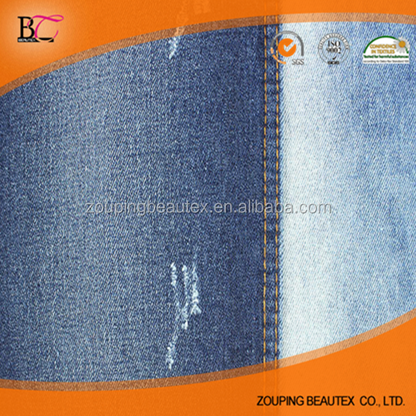 Wholesale100% cotton recycle 10oz denim fabric with attractive price