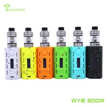 Electronic cigarette manufacturer china Tesla WYE 200W best selling Electronic Cigarette