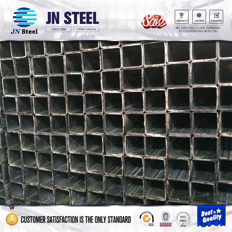 100*100mm HR square tube ERW steel pipe/tube