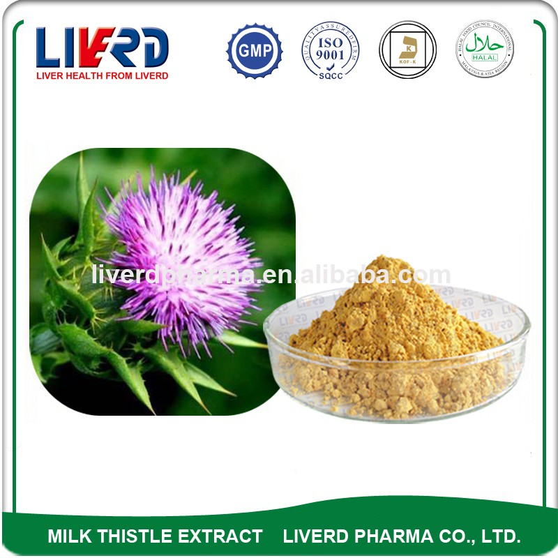 Milk Thistle Extract Powder 80% Silymarin with Free Sample