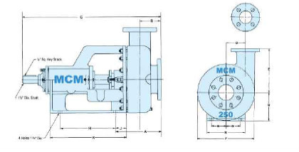 Top quality!API oilfield equipment drilling equipment MCM178,118 MUD centrifugal pump