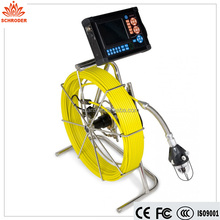 video pipe drain cleaner sewer inspection camera/endoscope/video inspection systems/endoscopic camera usb sonde&locator optional