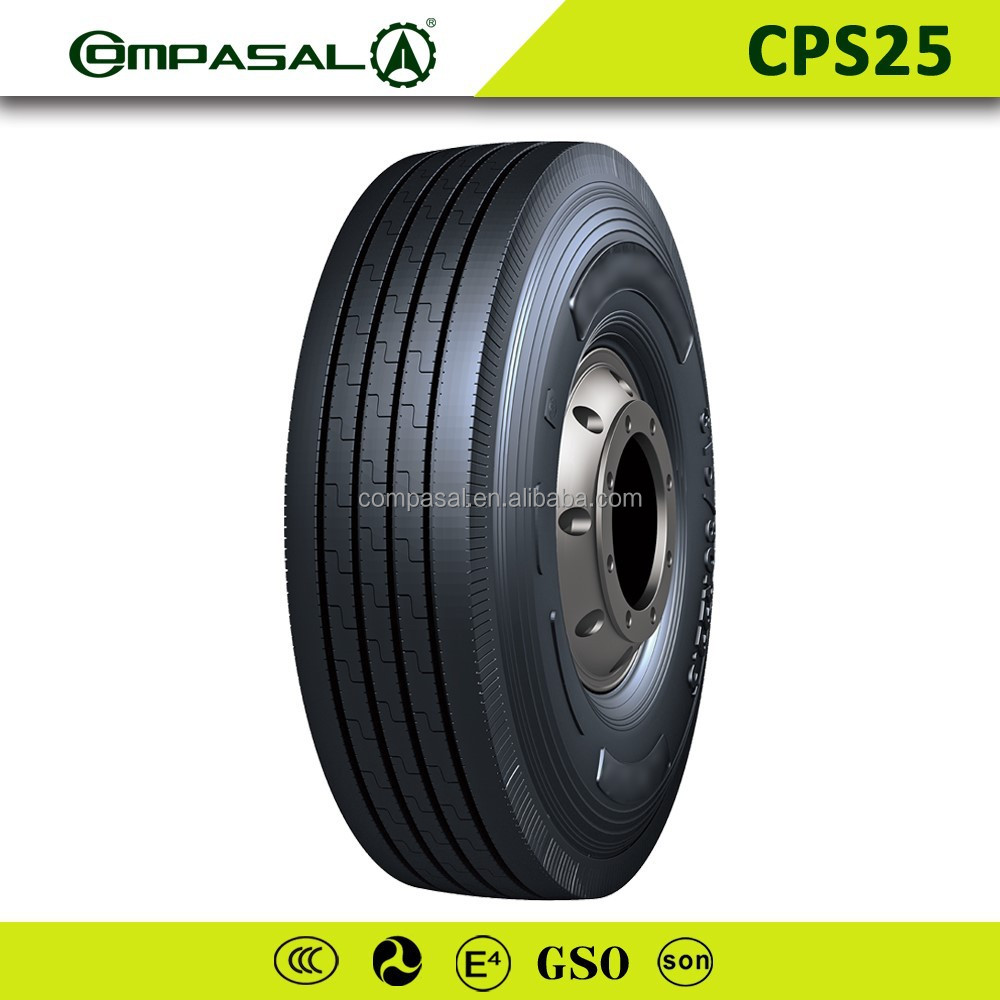 China TOP 10 tire manufacturer good price tyre Compasal brand 12R22.5 Chinese tires