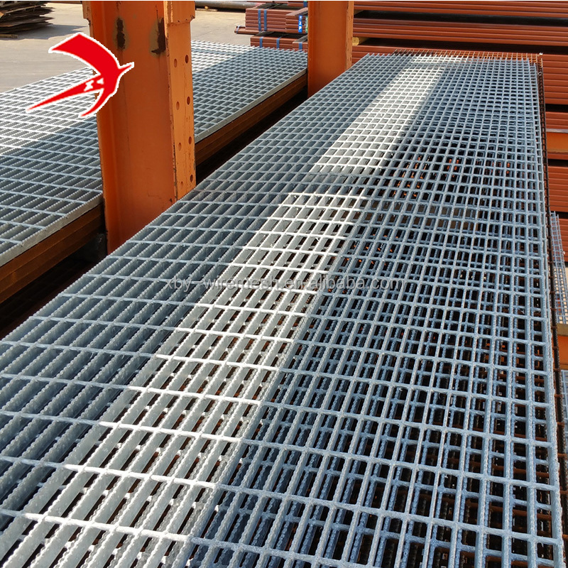 Metal Building <strong>Materials</strong> Hot Dipped 40*5 mm Galvanized Steel Grating