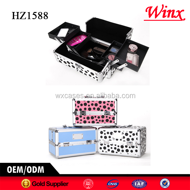 professional beauty makeup vanity case , Luxury makeup case from China factory,hot sales