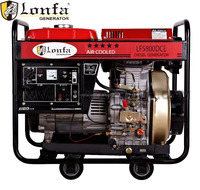 CE SONCAP certificate Industrial use 380V 3 phase Diesel Generator with wheels