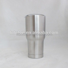 straw double wall tea cup 200ml clear glass sublimation tumbler