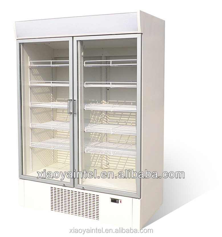 China Little Duck supermarket cooler drink freezer Fresh Meadows with CE certification
