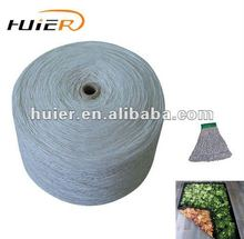 recycled open end cotton polyester blended carpet yarn