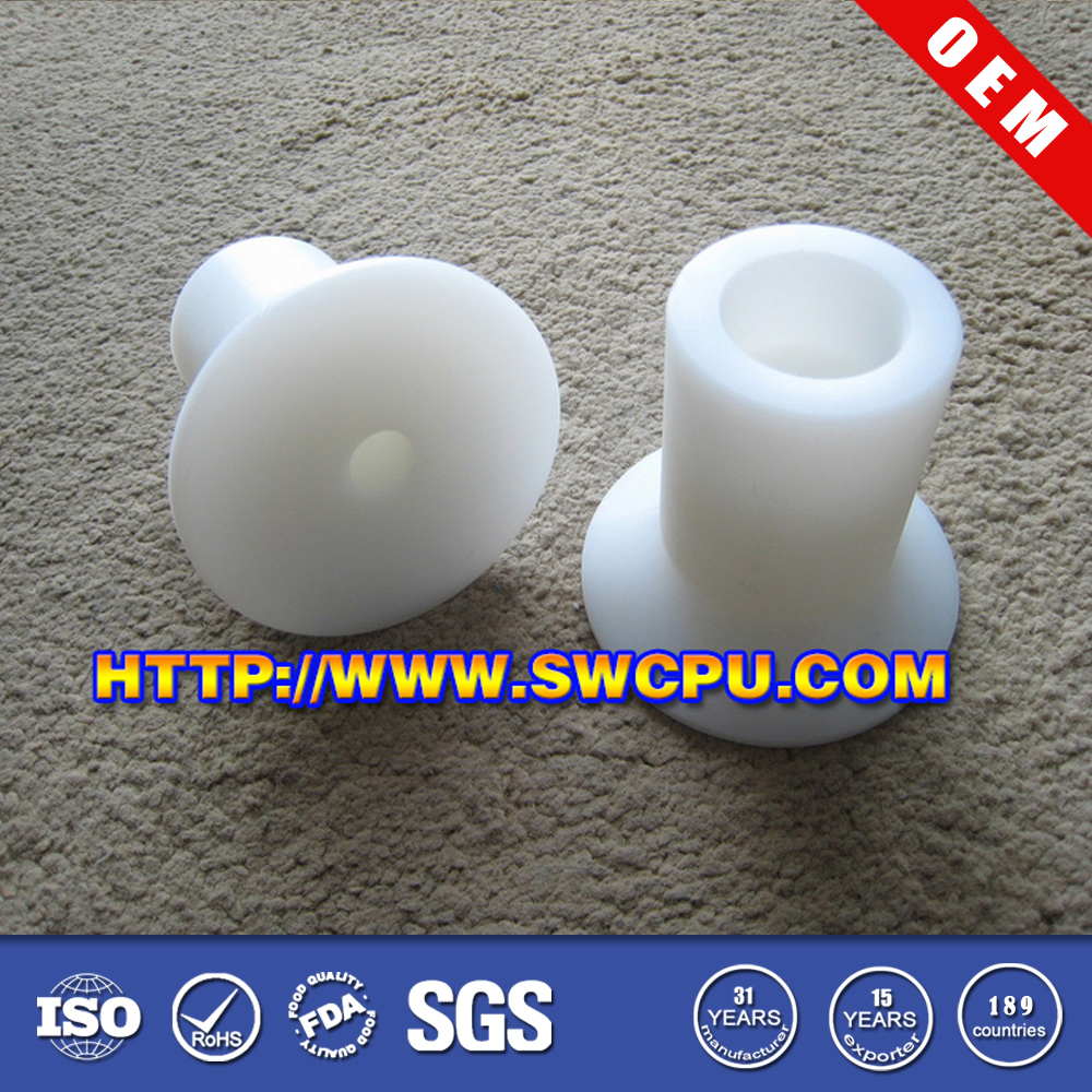 Small plastic custom nylon bushings/pvc shoulder bushing