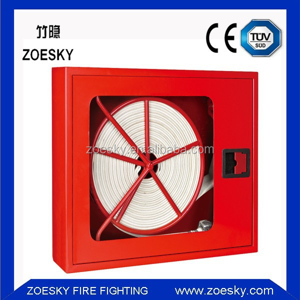 High Quality Fire Hose And Extinguisher Box,Red Fire Hose Reel Cabinet