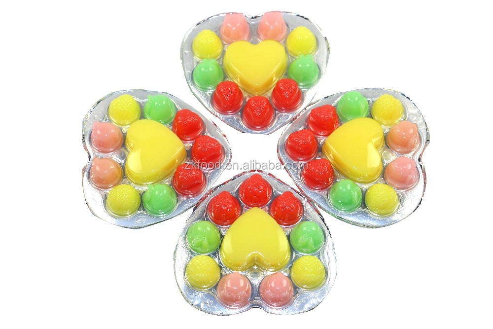 80g hot sale in maket the toy pudding / coconut pudding