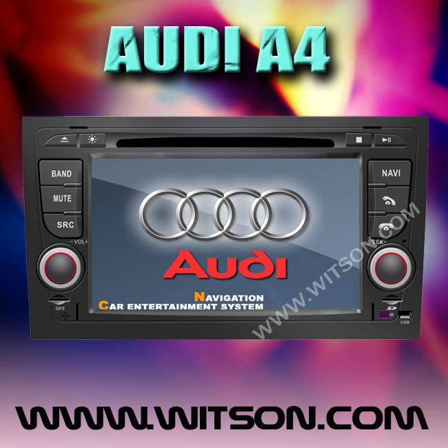 WITSON 7'' HD Car DVD Radio GPS Navigation for GPS FOR AUDI