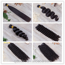 Hot selling natural 100% Peruvian hair virgin remy human hair weave