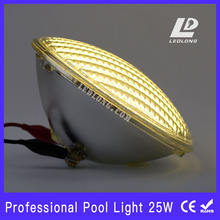 led Par 56 swimming pool light 25W White color glass shell