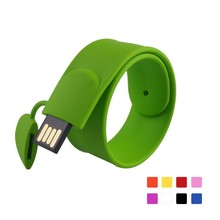 wholesale alibaba cheap custom bracelets USB flash memory disk, usb flash drive waterproof bracelet