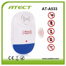 Hot sale ultrasonic mouse rat pest control repeller bug scare electronic shok mice killer