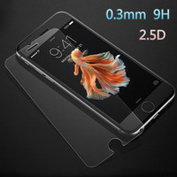 High transparent 0.3mm ultra thin anti-scratch 9h hardness tempered glass screen protector for iPhone 7
