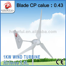 Power generator wind turbine with tilt-up tower