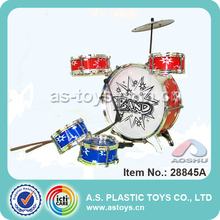 Kids Plastic Musical Jazz Drum Toy Play At Home