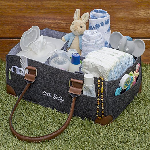 QJMAX Multifunctional Large Capacity Diaper Baby Bag With <strong>10</strong> Pockets