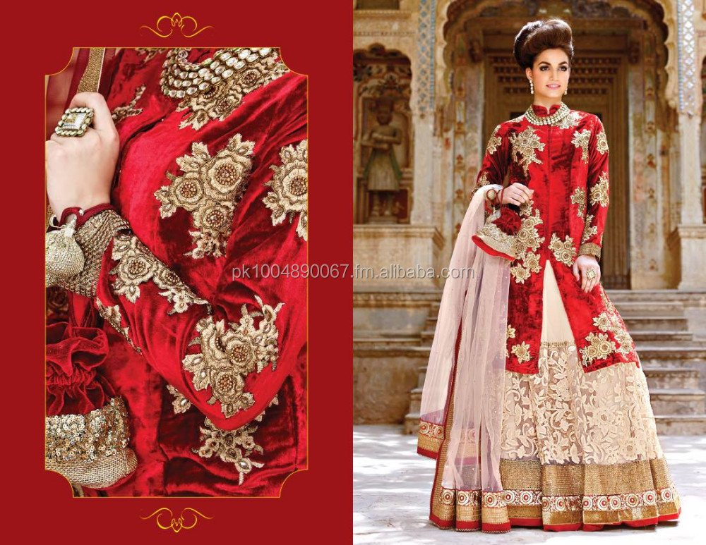 red velvet coat shirt with off white sharara