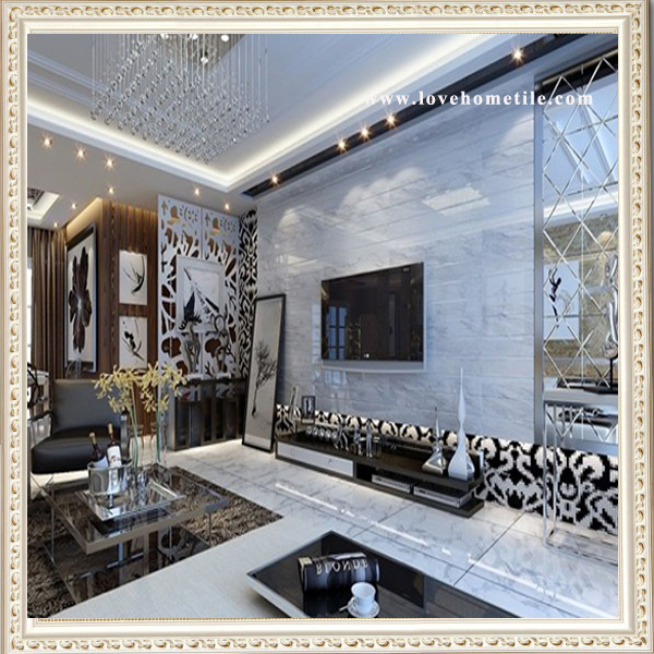 Hot China Products Wholesale Volakas White Marble Floor Design Pictures