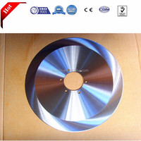 Ductile Saw Blade with Welded Vaccum Brazed Stainless steel Segment