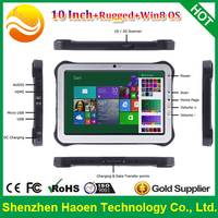 10 Inch Rugged Windows Tablet PC with RJ45 Standard USB HDMI Output Docking Station Industrial NFC RFID Tablets 3G GPS Barcode
