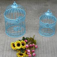 newest decorative round metal birdcage