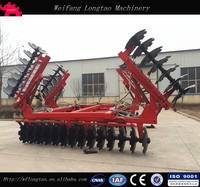 Farm machinery tractor trailed heavy duty Disc Harrow/hydraulic disc harrow for sale