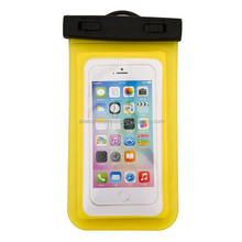Best sales fashionable custom 100% sealed full body protect universal PVC phone waterproof case for iphone
