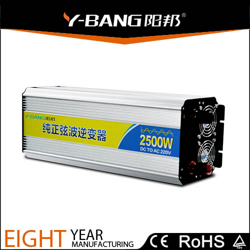 2500W <strong>DC</strong> to AC Pure Sine Wave Power Inverter with LED screen