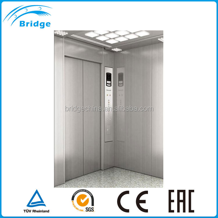 BG two cage Construction elevator/passanger lifter Residential elevator price