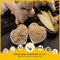 Ginger powder air dried processing non additives and contamination