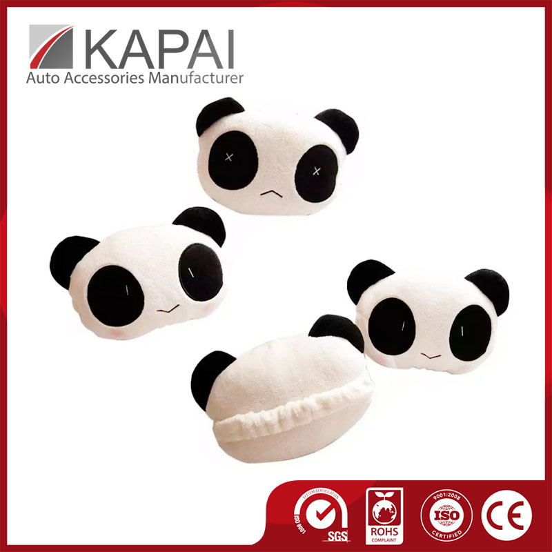 Hot Sale Comfort Care Cars Panda Pillow & Neck Support Pillow For Cars