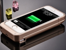 External Battery Backup Charger Power Bank Pack Case battery case For iPhone 5 5s plus