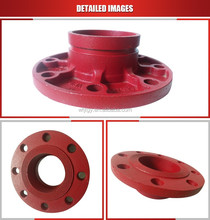 FM/UL certificated cast iron pipe fitting-flange adaptor