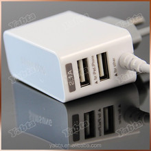 2016 Multi Port Wall Charger with LED, 5V 2.1A Samsung e250 Wall Charger with Micro Usb Cable