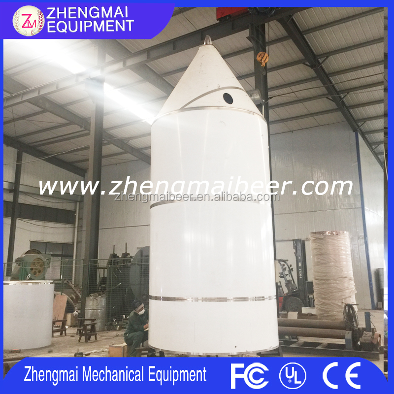 2000L Large beer equipment gallon conical fermentation tanks for beer brewery