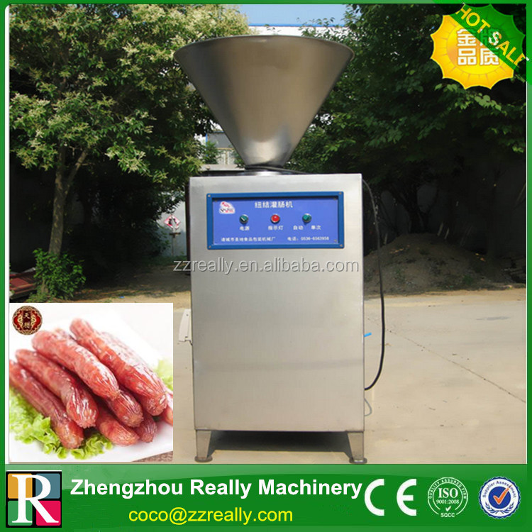 Commercial Sausage Stuffer Machine|Automatic Sausage Meat Extruder