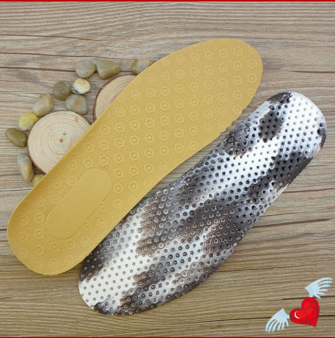 Leather Breathable Shoes Insole For Sports Shoes