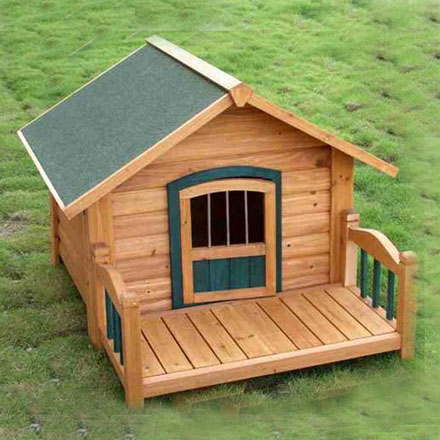 Eco-friendly Luxurious Outdoor Wooden Durable Pet House