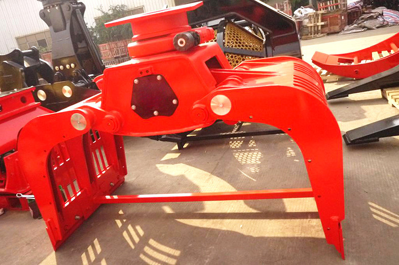 New Product machine manufacture hydraulic rotating log grab