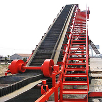 Belt Conveyor for Stone Crushing Material Transportation System